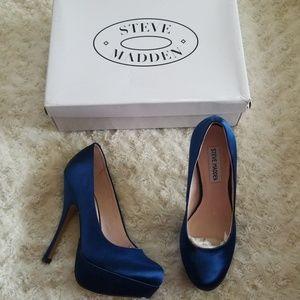 New! Steve Madden Partyy Satin Heels